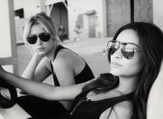 Ashley Benson and Shay Mitchell Pose For a Pic  - Photo