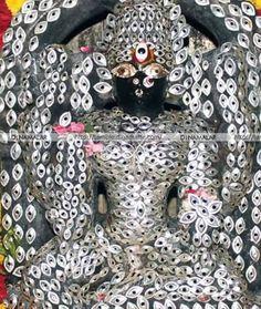 Special alangaram for god Durga Maa, Shiva Shakti, Durga Goddess, Shiva Art, Krishna Art, Hindu Deities, Hinduism, Divine Mother, Divine Grace