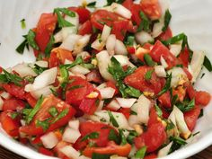 Chismol, or chirmol, is the name of a simple fresh vegetable salsa that is popular in many of the countries of Central America, especially Honduras and El Salvador.