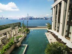 Incredible pool and ocean views from Grand Harbour Hong Kong