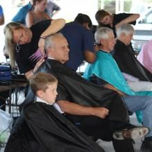 A cut above the rest A Lebanon barber was a cut above the rest Tuesday.