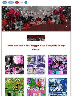Ad:Tons of Tagger Size Scrapkits & Commercial Use Products from Broken Sky Dezine!https://madmimi.com/s/8de573