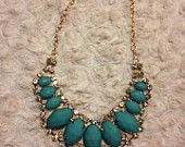 Statement necklace from www.etsy.com/HBrooke22 . Lots of options and all under $16!! #statementnecklace #bubblenecklace #necklace #jewelry