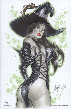 Wicked Witch OZ Zenescope by Elias-Chatzoudis.deviantart.com on @deviantART