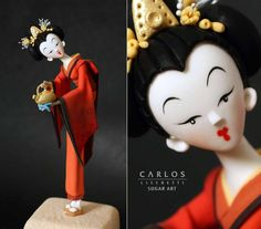 So... one of my favorite cake artist Carlos Lischetti will launch a book. Very exciting!!!!