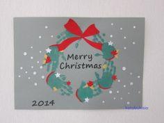 Christmas 2014, Kids Christmas, Christmas Crafts, Holiday Crafts For Kids, Diy Crafts For Kids, Baby Crafts, Cute Crafts, Baby Hand And Foot Prints, Footprint Art