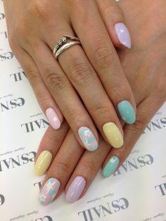 POP pastel nail ♪