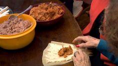 Pork Tamales, this recipe for pork tamales comes from San Antonio's landmark Mi Tierra restaurant