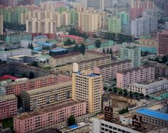 Pyongyang photographed by Raphael Olivier