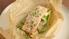 Garlic Butter Salmon  You'll want to use the garlic butter marinade on everything.  Get the recipe from Delish.