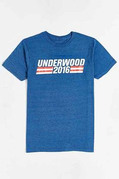 House of Cards Underwood Tee