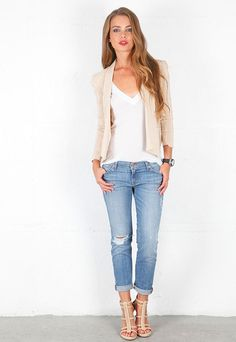 Rolled up jeans - What to Wear to a Country Concert