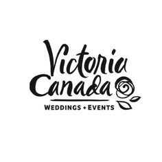 Victioria Canada Weddings and Events logo by Becky Ankeny #BeckyAnkeny #VictoriaCanadaWeddings #logos