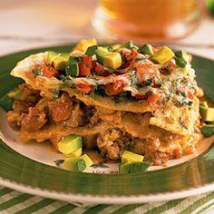 Top-Rated Main Dishes: Mexican Lasagna