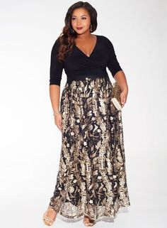 Sexy Plus Size Dresses For Formal Occasions