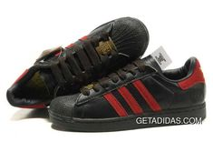 736f96447c70 Black Red Gold THANKSGIVING Durable Adidas Superstar 35th Anniversary Womens  Club US TopDeals
