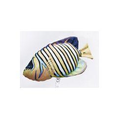 Mini Cuscino a forma di Cavalluccio marino Blu H 40 cm