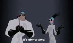 Perhaps most important, they also know what the best time of the day is. | 24 Reasons Yzma And Kronk Are The Best Disney Characters Ever