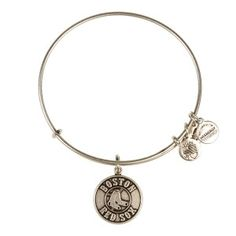 Boston Red Sox™ Primary Logo Expandable Wire Bangle - Russian Silver