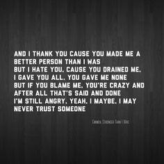 Eminem stronger than I was lyrics music