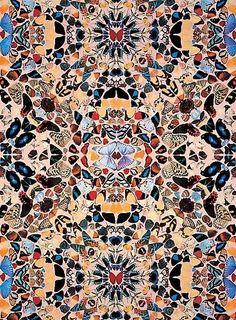 Damien Hirst - Butterfly Wallpaper