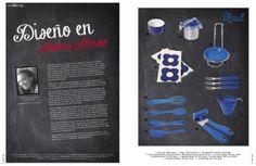 Revista Platos&Copas // cook&desing: Diseño en colores patrios