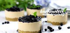 Jablkové tartaletky so slaným karamelom - Coolinári Mini Cheesecakes, Panna Cotta, Food And Drink, Pudding, Cooking Recipes, Sweet, Ethnic Recipes, Blog, Hampers