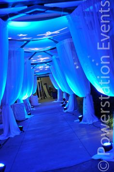 toned down a bit for reception hall concept  Walkway up to a Wedding