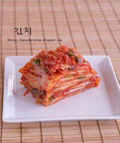 step by step tutorials on how to make authentic Korean cabbage kimchi, part 3 Korean Dishes, Korean Food, Traditional Kimchi Recipe, Asian Recipes, Ethnic Recipes, Hawaiian Recipes, Anchovy Sauce, Bulgogi, Seafood Stock