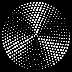 circle of circles by beeseandbombs motion gif dave whyte