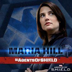 #AgentsofSHIELD - Maria Hill