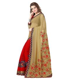 Elevate Women Beige Georgette Saree - http://www.zazva.com/shop/women/clothing-and-accessories/women-clothing/women-ethnic-wear/women-sarees/elevate-women-beige-georgette-saree/ Brand :ElevateSet Contents : With Blouse Piece Color : Beige Fabric : Georgette Product Length(in metres) : 5.5Product width(in metres) : 1.2 Fabric Care : Dry Clean  #BeigeSaree, #DesignerSaree, #Saree