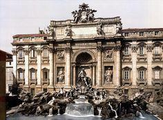 Řím - The Fountain of Trevi