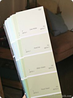Light green paint colors. Many other paint colors pictures of rooms.