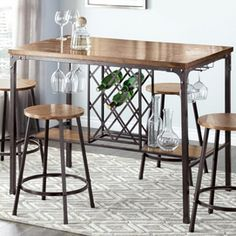 'Diablo' Pub-Height Dining Table - Sears | Sears Canada