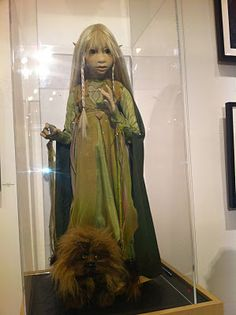 Idée Fixe: Brian, Wendy, Toby Froud at Animazing Gallery Soho Jim Henson, Magical Creatures, Fantasy Creatures, Brian Froud, The Last Unicorn, The Dark Crystal, Gnome, Fantasy Movies, Movie Costumes