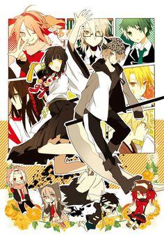 Dangansona Reincarnated - Hope to Make History (Danganronpa vs Persona Gurren Lagann, Manga Anime, Anime Art, Manga Cute, Trigger Happy Havoc, White Rabbits, Persona 4, Cosplay, Awesome Anime