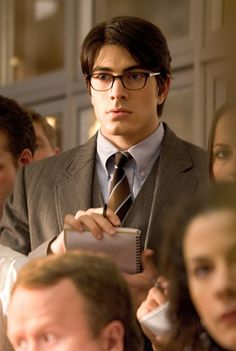Brandon Routh as Clark Kent in Superman Returns