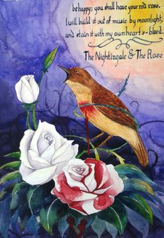 The Nightingale and the Rose by Parfet.deviantart.com on ...