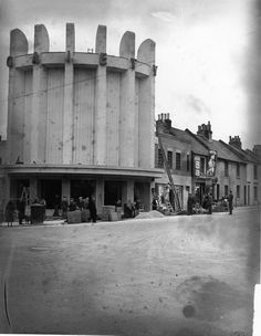 Gaiety cinema under construction 1937 Brighton Rock, Brighton And Hove, My Town, Under Construction, Days Out, Vintage Images, Wander, Past, Cinema