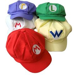 62d8dd00b1f Anime Super Mario Bros baby Hat Cartoon Cosplay mario bros kids Cap brands  Unisex Multi-
