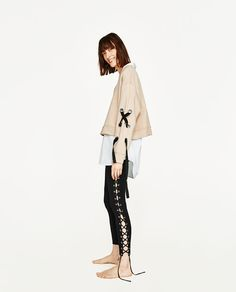 ZARA - WOMAN - SWEATSHIRT WITH BOW