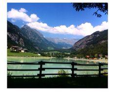 ••• Lago azzurro ghiaccio.  Valle d'Aosta. •••