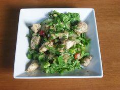 Chicken & Spicy Peanut Salad