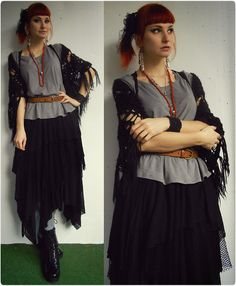 Diy Goth Skirt, Wolf Tea Rattus Earrings