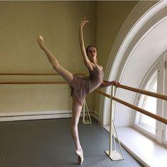 Student of the Vaganova Ballet Academy Daria Reznik
