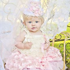 Shabby Chic Pink Princess Birthday Collection - www.cassiesclosetinc.com