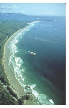 Long Beach Vancouver Island, where Vanessa's beach resort vacation will be 2013.