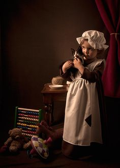 Urchin Girl Photography by Bill Gekas (Greek-Australian), Model: His daughter, Athina Children Photography, Fine Art Photography, Portrait Photography, Classic Paintings, Cute Wallpaper Backgrounds, Old Master, Animals For Kids, Vintage Children, Cute Kids