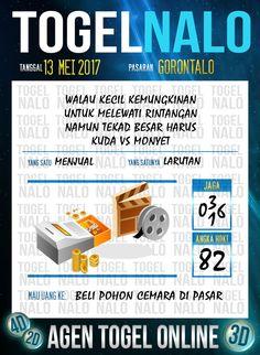 Keluaran 6D Togel Wap Online TogelNalo Gorontalo 13 Mei 2017